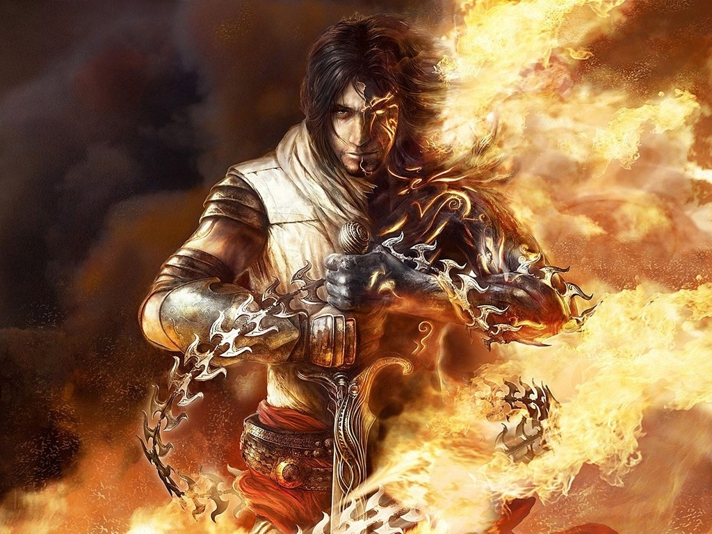 prince of persia: the two thrones (video game) wallpaper (1024 x 768