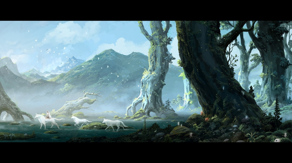 10 Best Miyazaki Princess Mononoke Wallpaper FULL HD 1920× ...