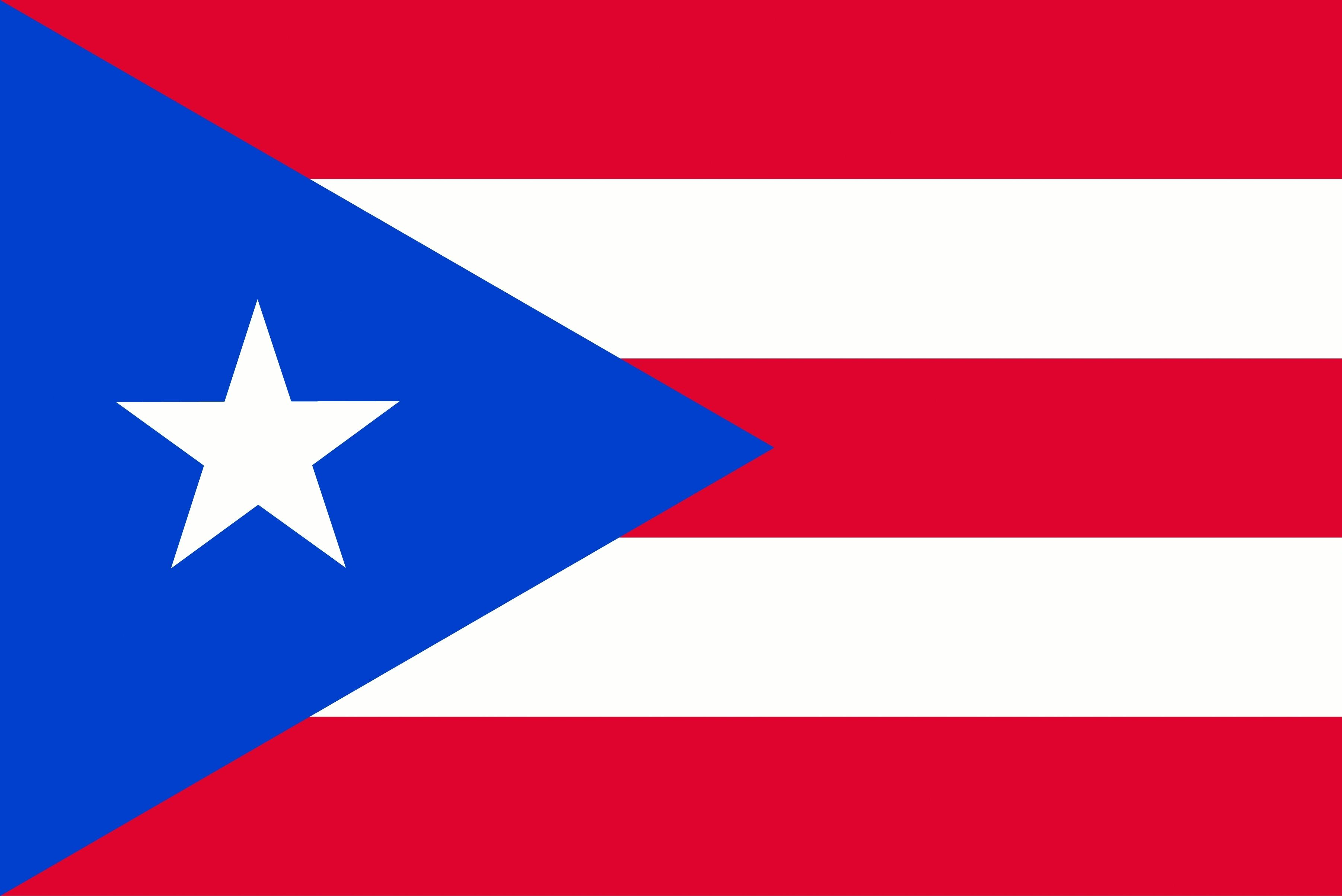 puerto rico flag stripes