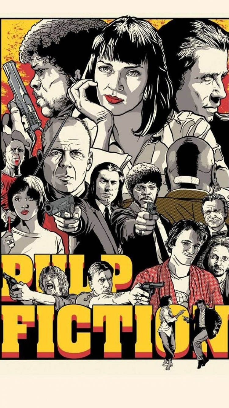 pulp fiction iphone wallpapers - wallpaperpulse | android