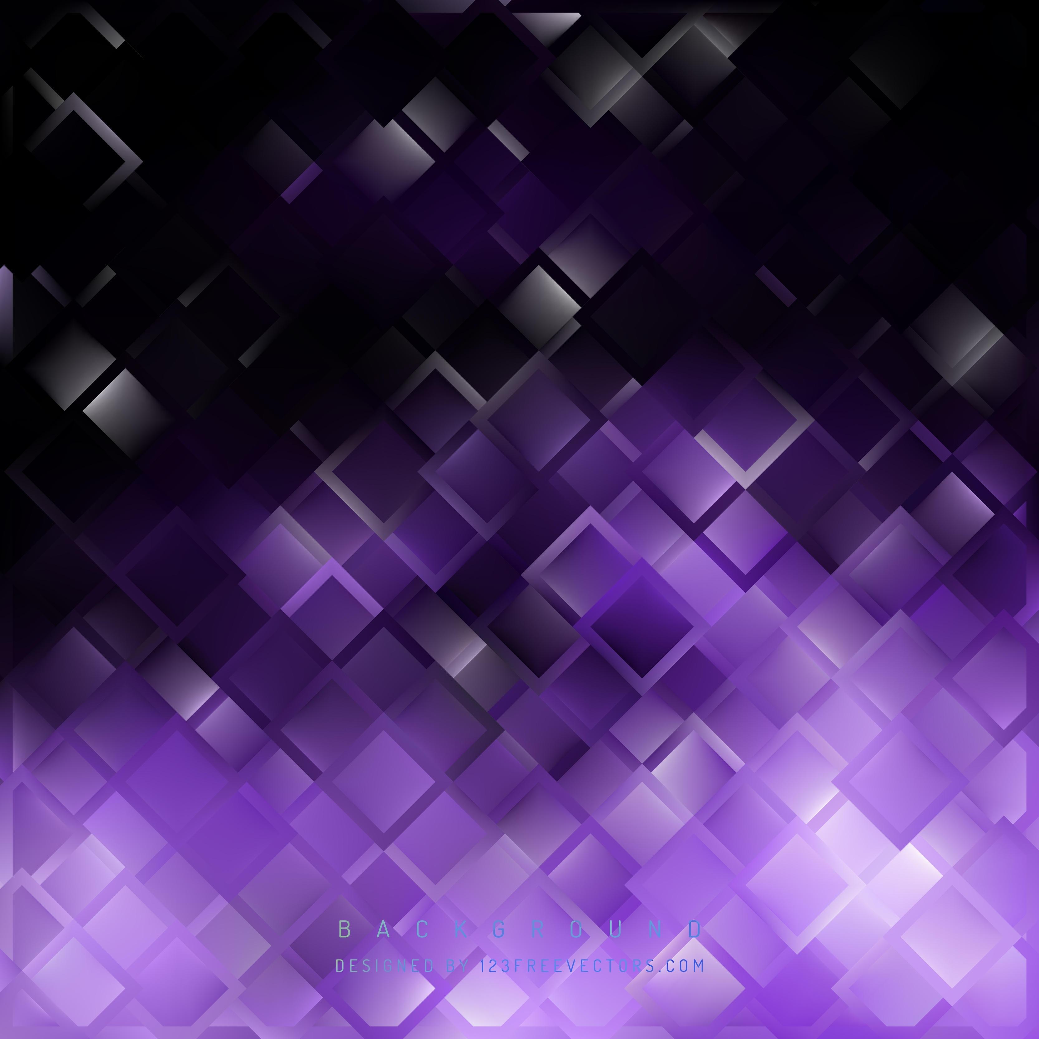 purple black square background design   123freevectors