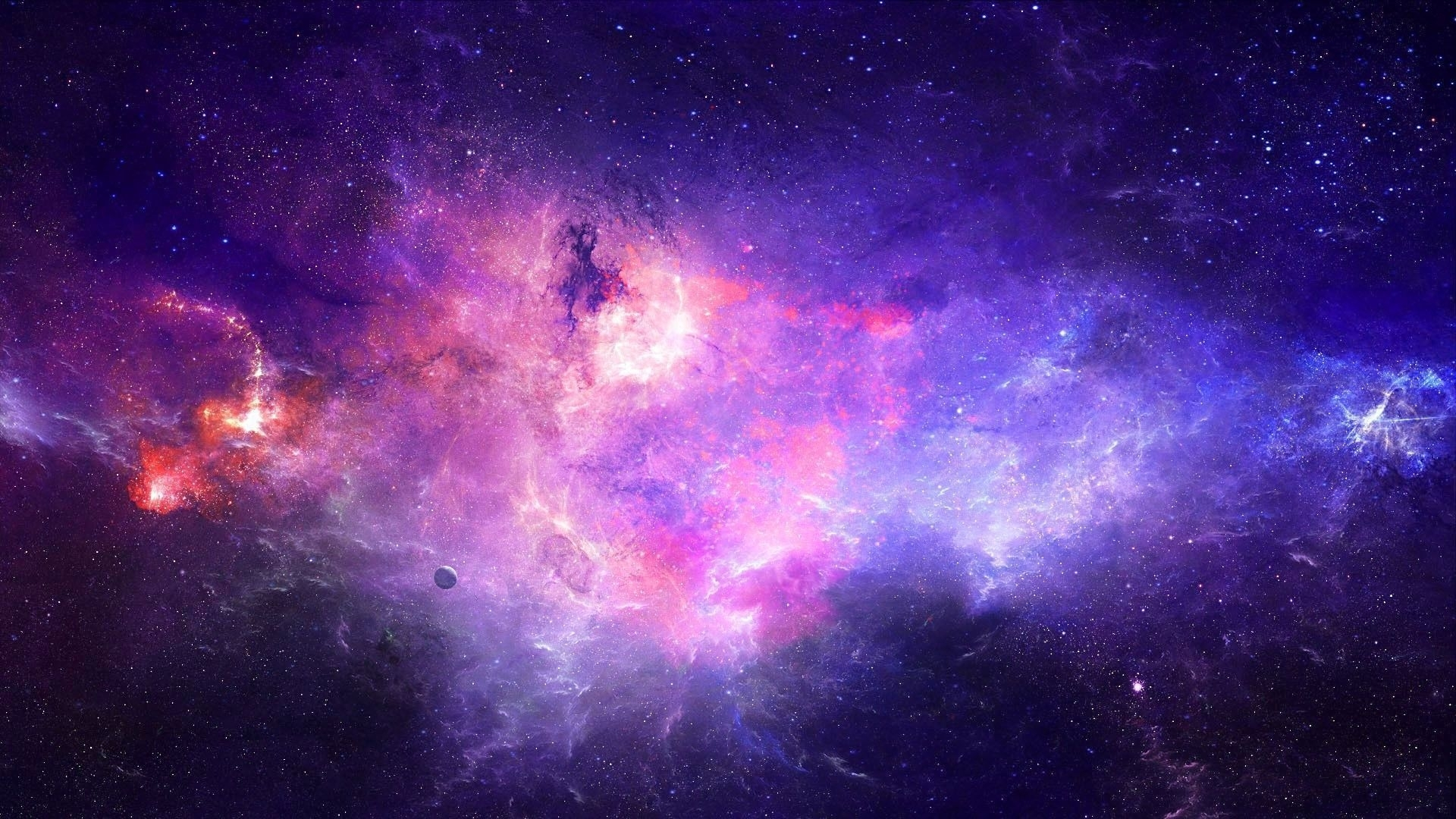 purple galaxy wallpapers - wallpaper cave | laptop backgrounds