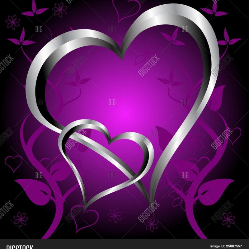 10 Most Popular Pictures Of Purple Hearts FULL HD 1920×1080 For PC Desktop 2020 free download purple hearts valentines day vector photo bigstock 800x800
