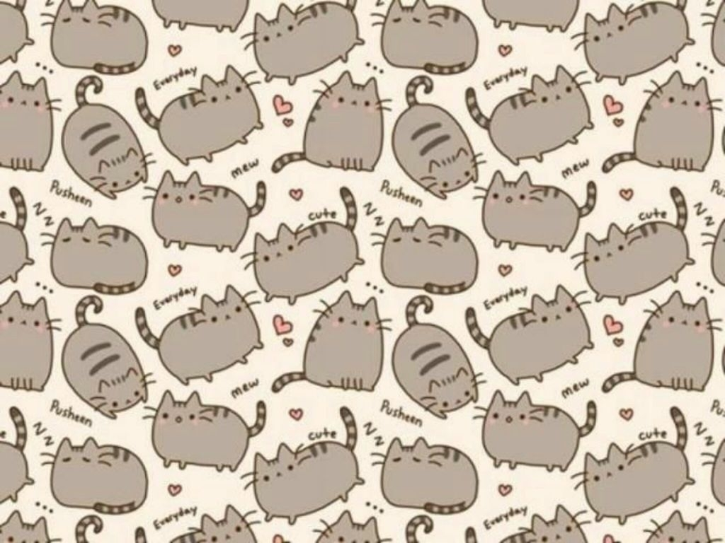 pusheen cat wallpaper sharedjuliantonelli †