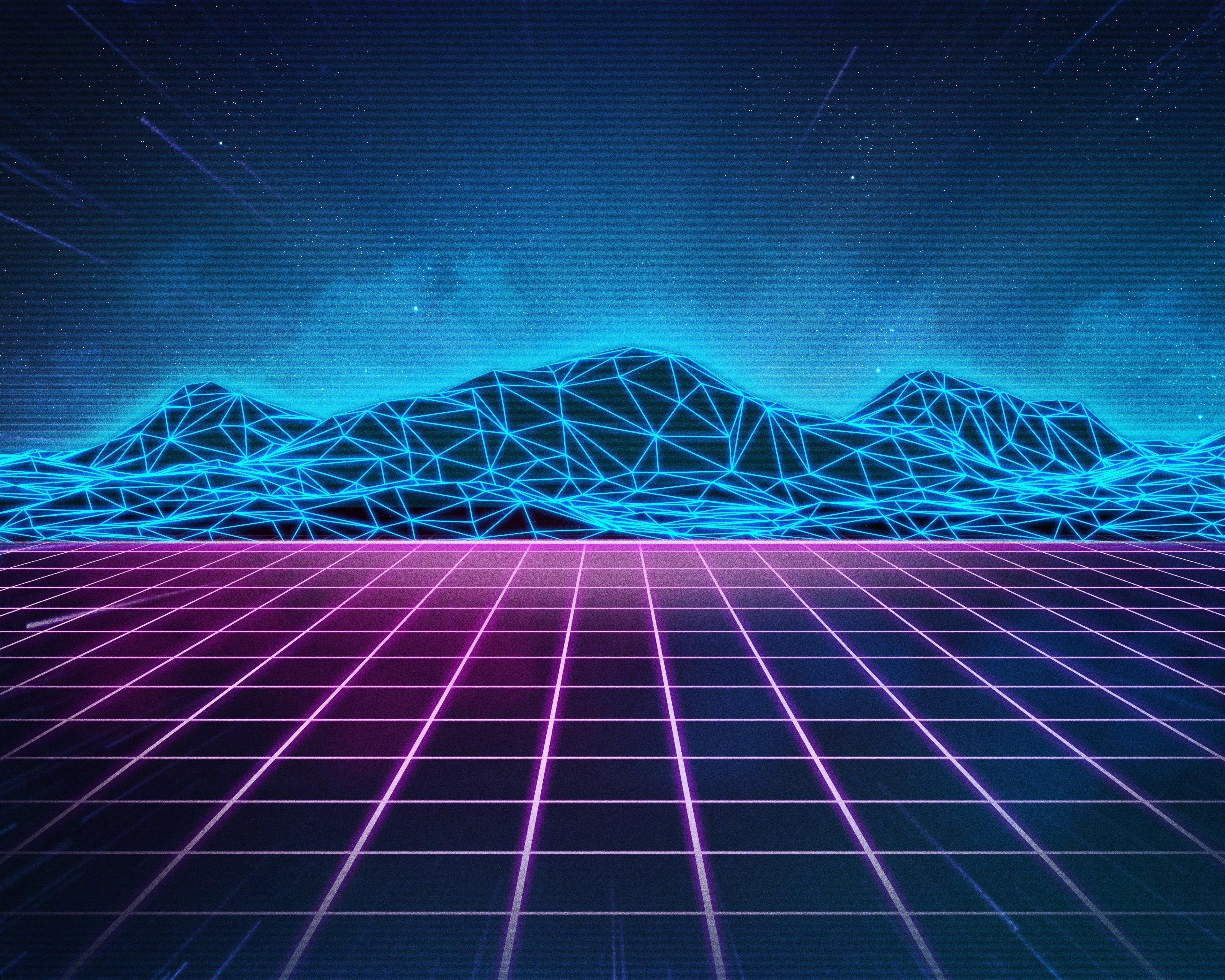 rad pack 80's-themed hd wallpapers – nate wren – graphic design