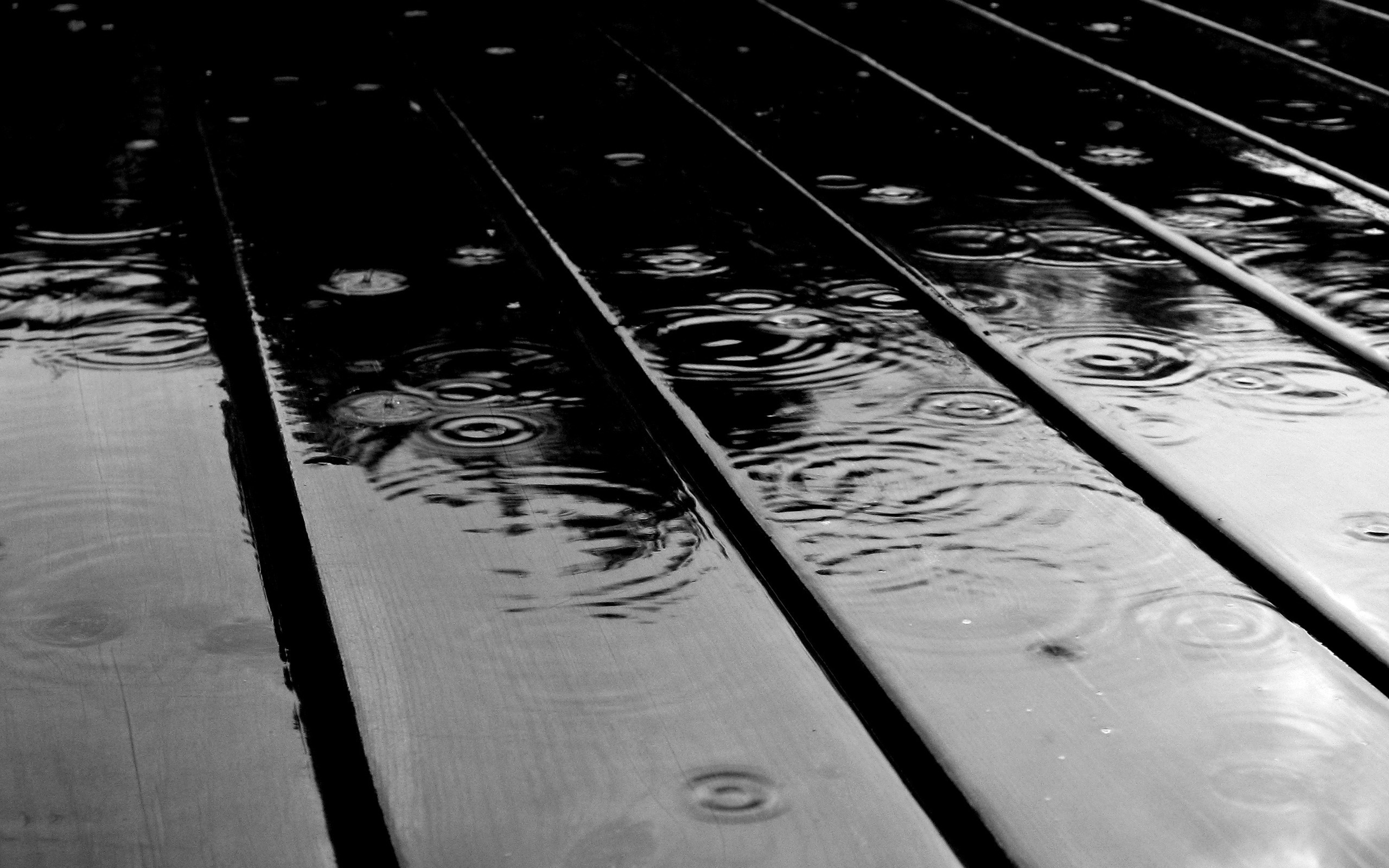 rain drops - 50 best black and white wallpapers