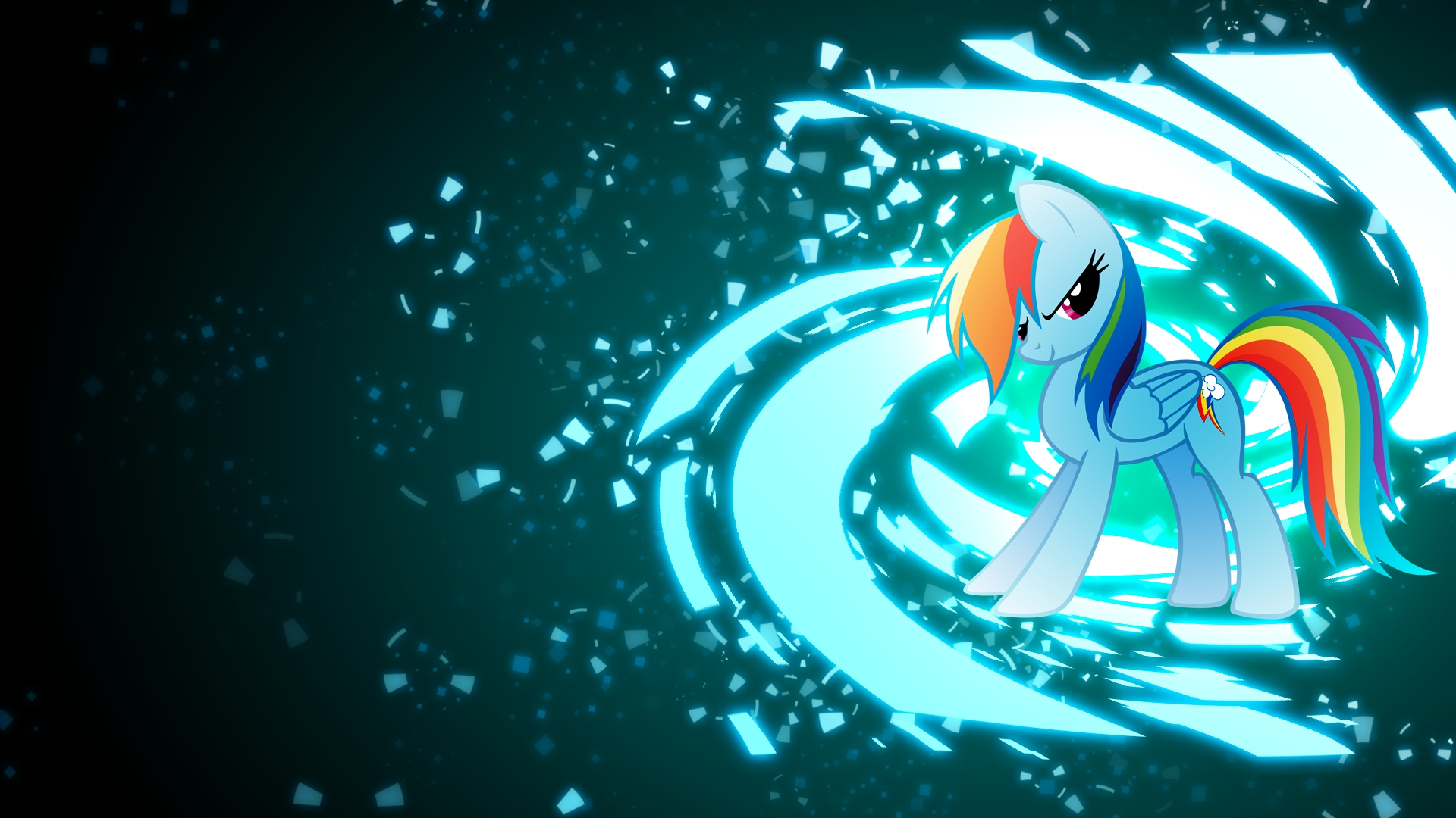 rainbow dash wallpaper ver.3 full hd fond d'écran and arrière-plan