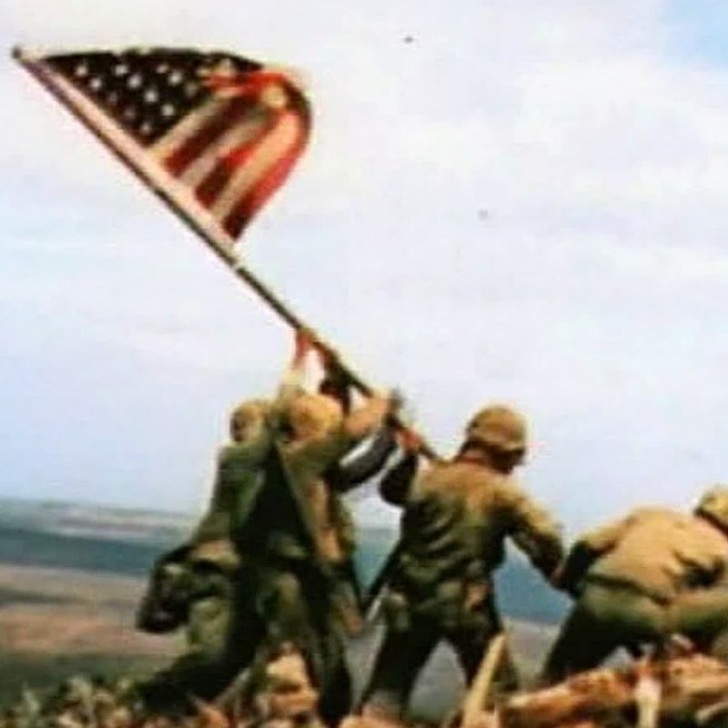 10 Best Iwo Jima Flag Raising Color FULL HD 1920×1080 For PC Background 2018 free download raising the flag on iwo jima slow motion youtube 800x800