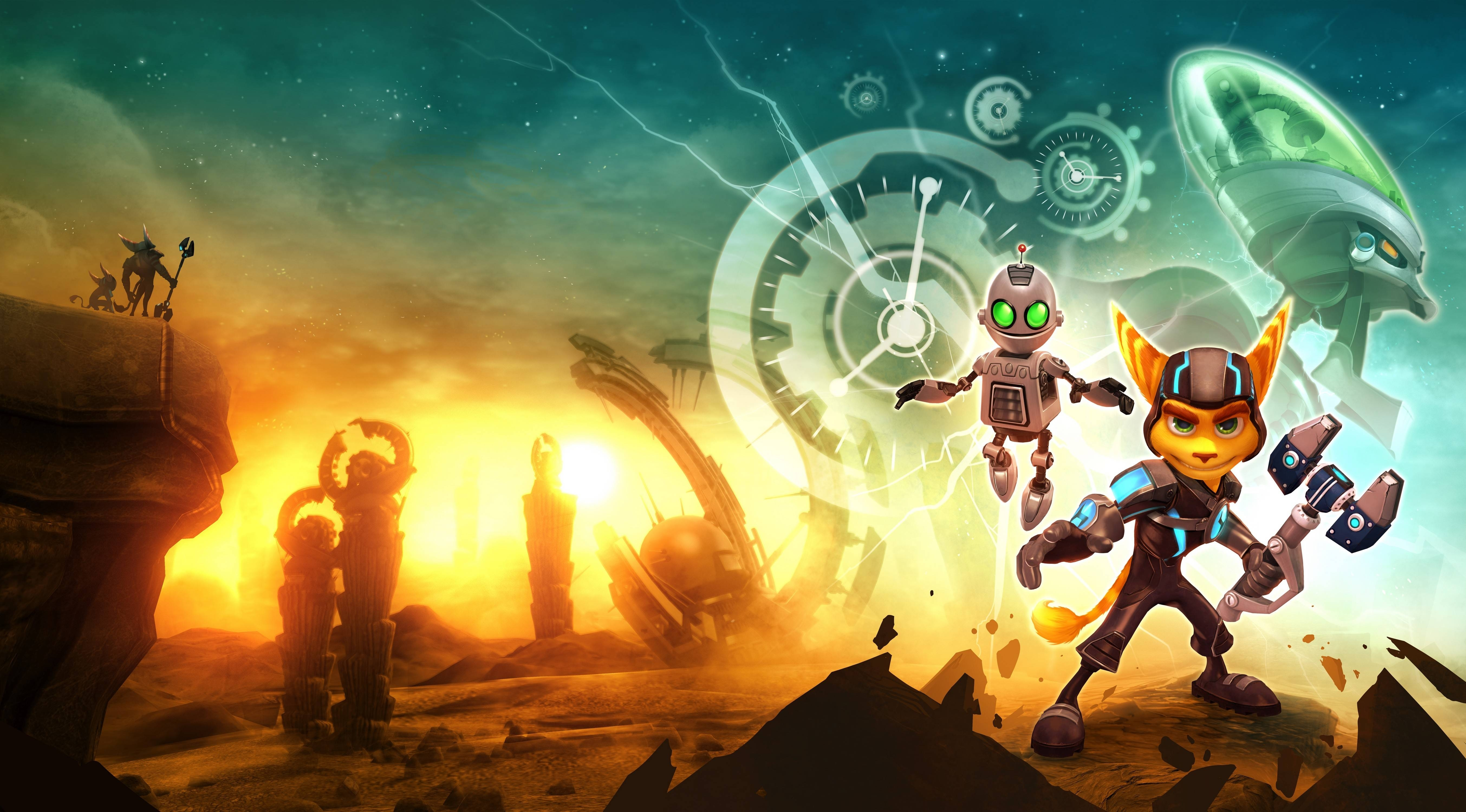 10 Best Ratchet And Clank Backgrounds FULL HD 1080p For PC Background