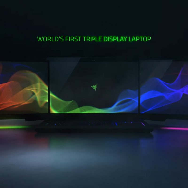 10 Best Razer Triple Monitor Wallpaper FULL HD 1080p For PC Desktop 2020 free download razer introduces insane triple display laptop concept at ces 2017 800x800