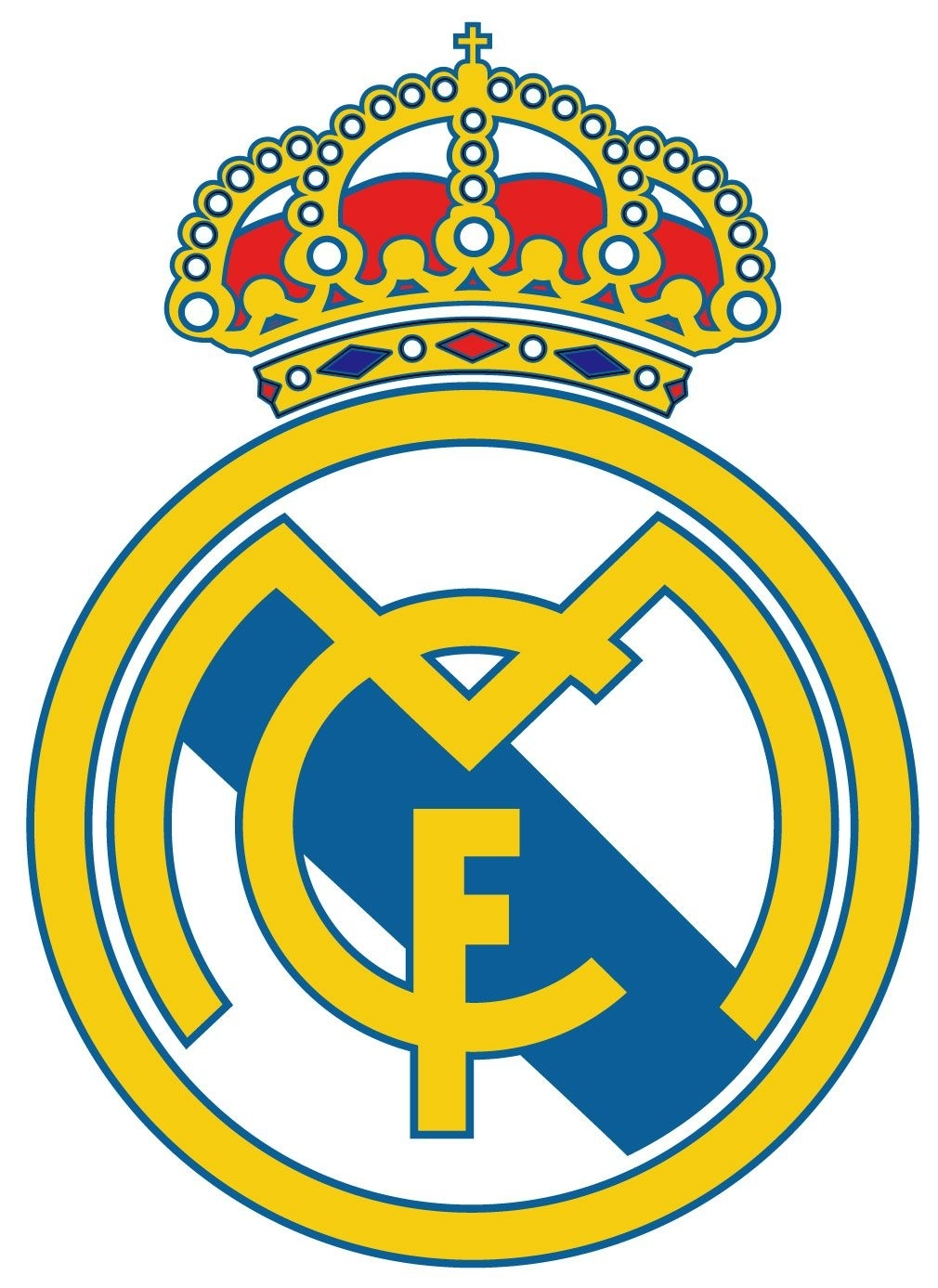 real madrid logo vector | ideas for the house | pinterest