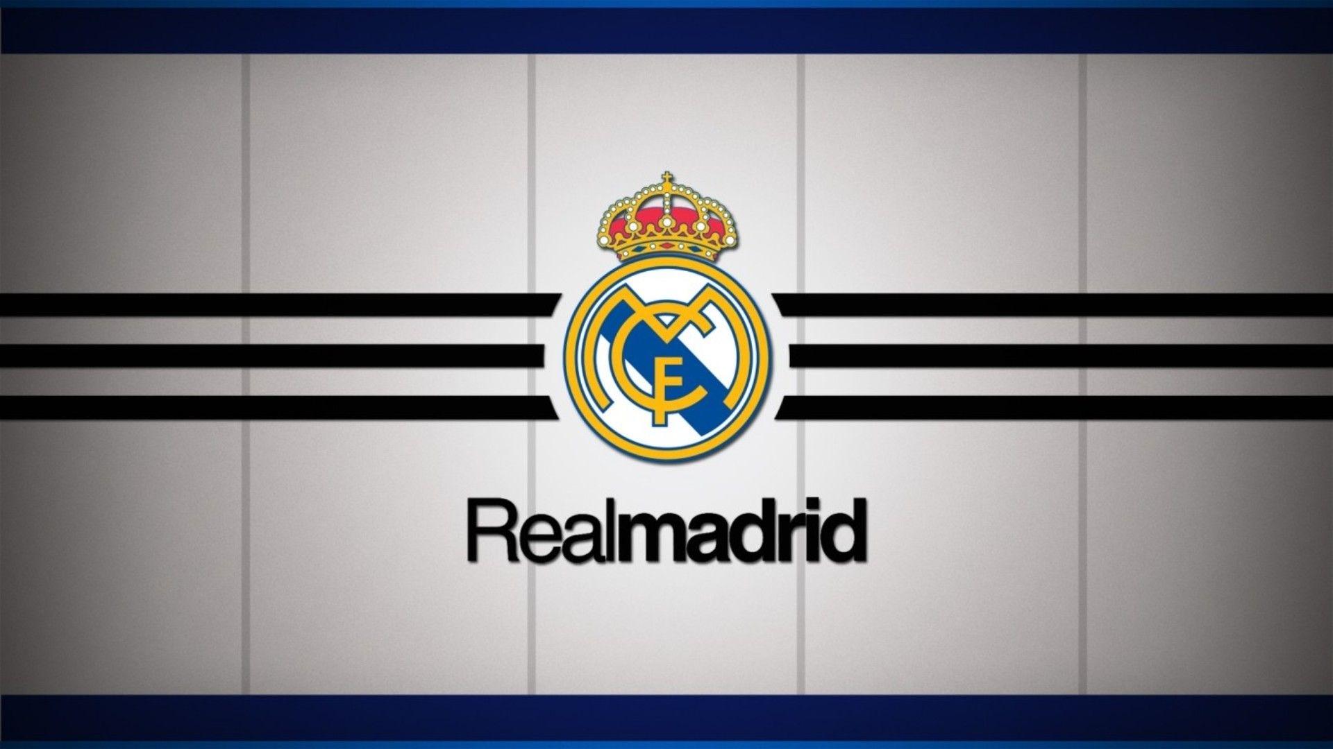 real madrid logo wallpaper 1080p | real madrid | pinterest