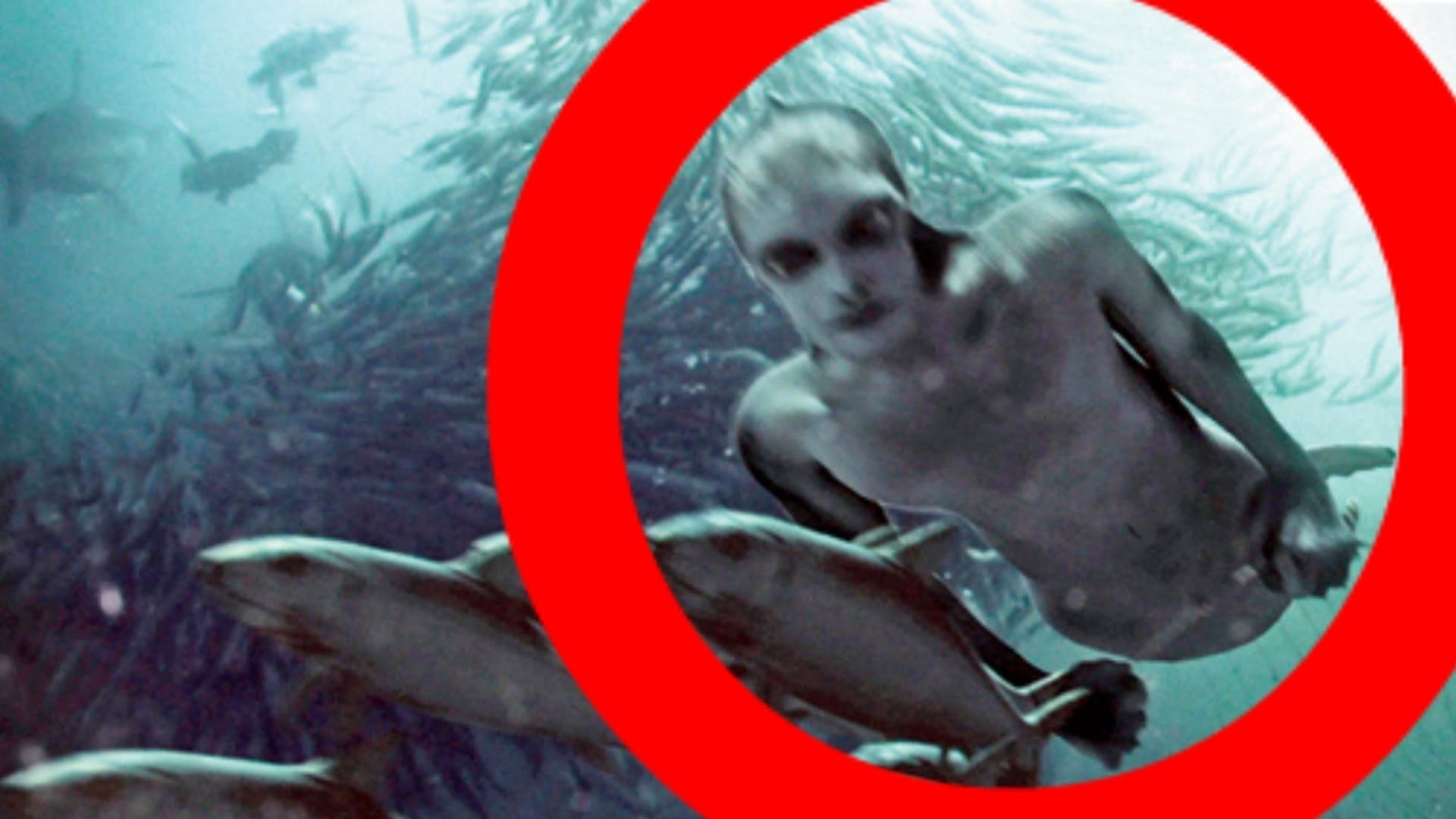 real mermaids (and merman) caught on camera!? (mermaid evidence