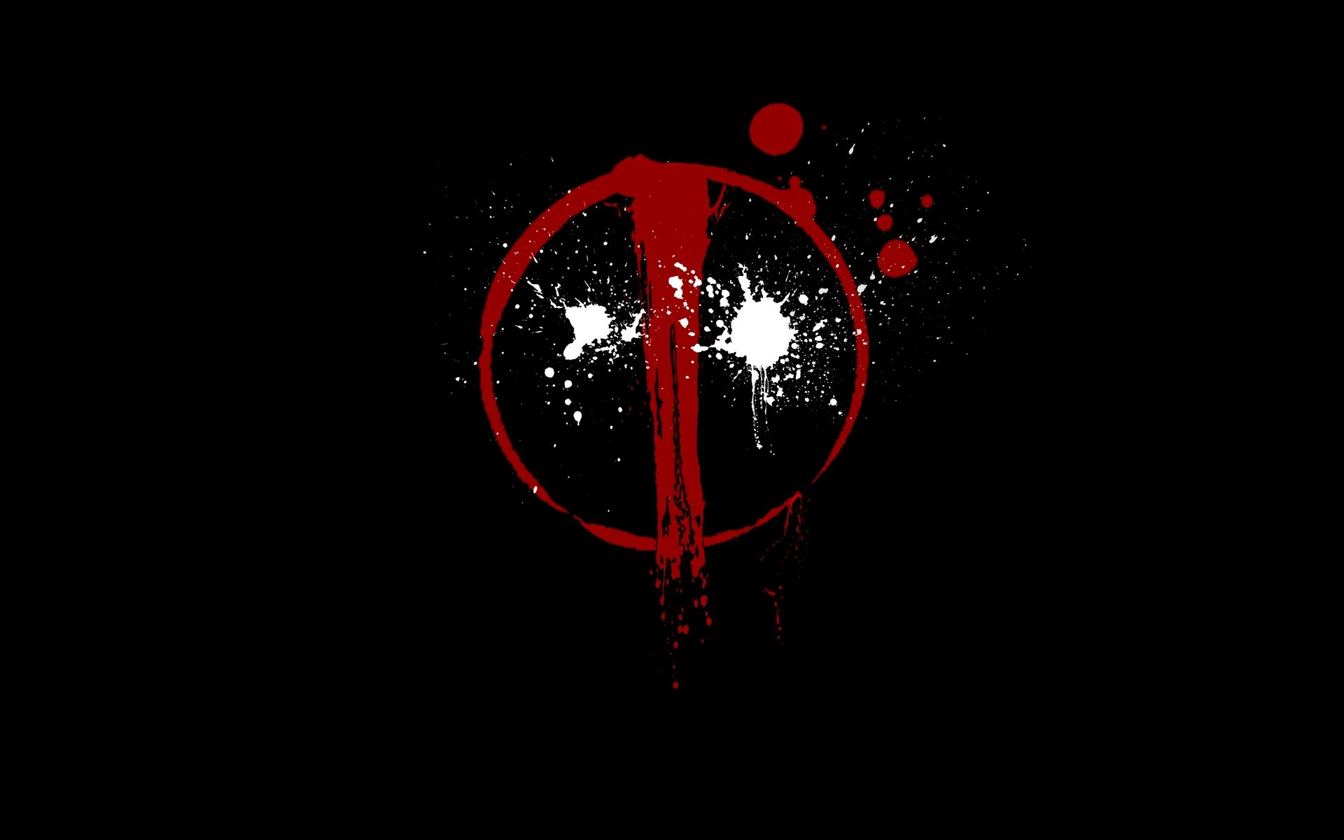 reb-black-deadpool-logo-wallpapers-hd - wallpaper.wiki