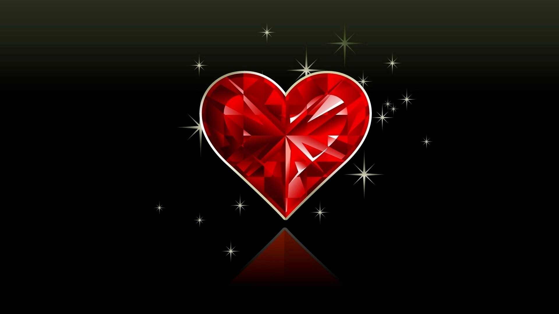 red heart black background (46+ images)