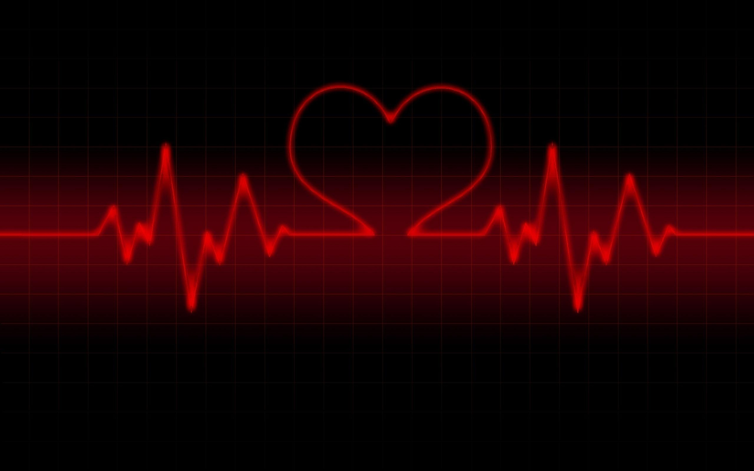 red heart with black backgrounds - wallpaper cave