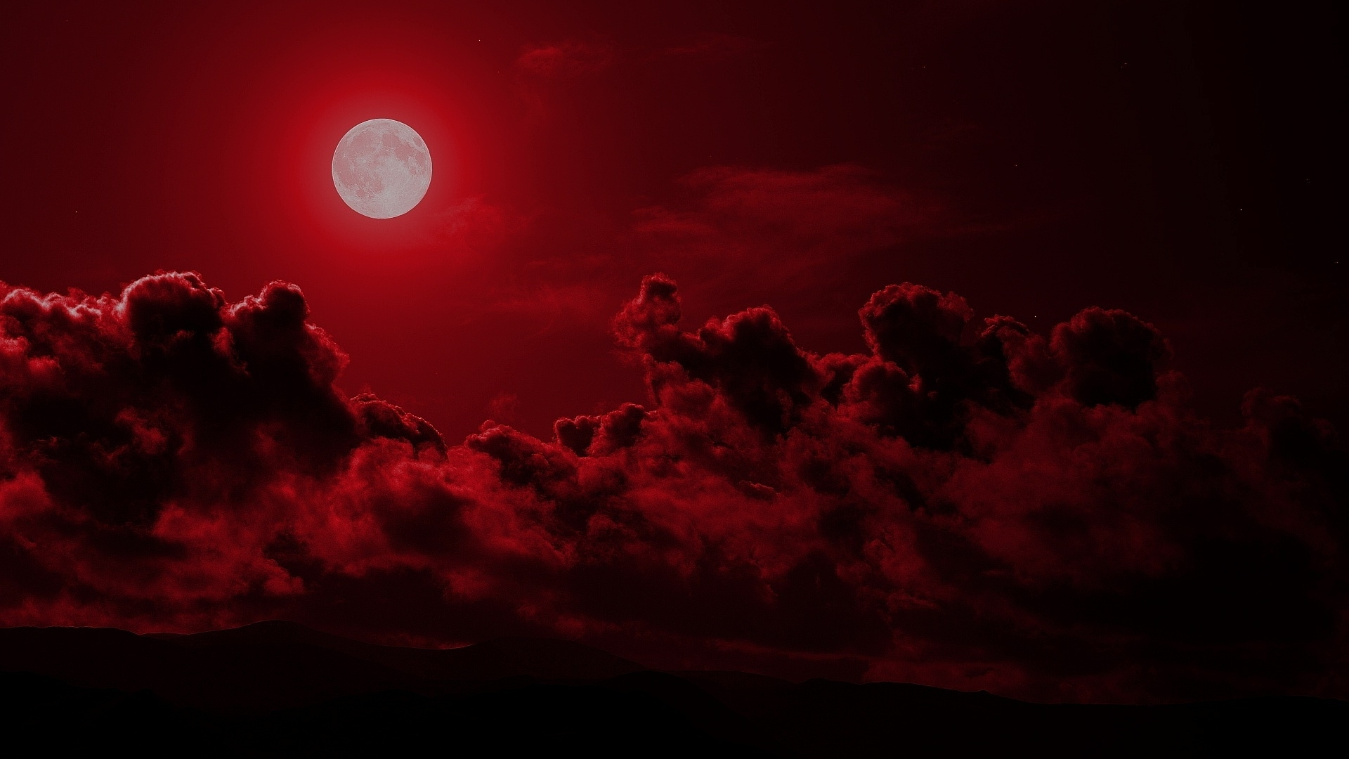 red moon wallpaper hd | pixelstalk