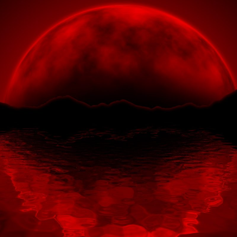 10 Best Red Moon Wallpaper Hd FULL HD 1080p For PC Background 2018 Free Download