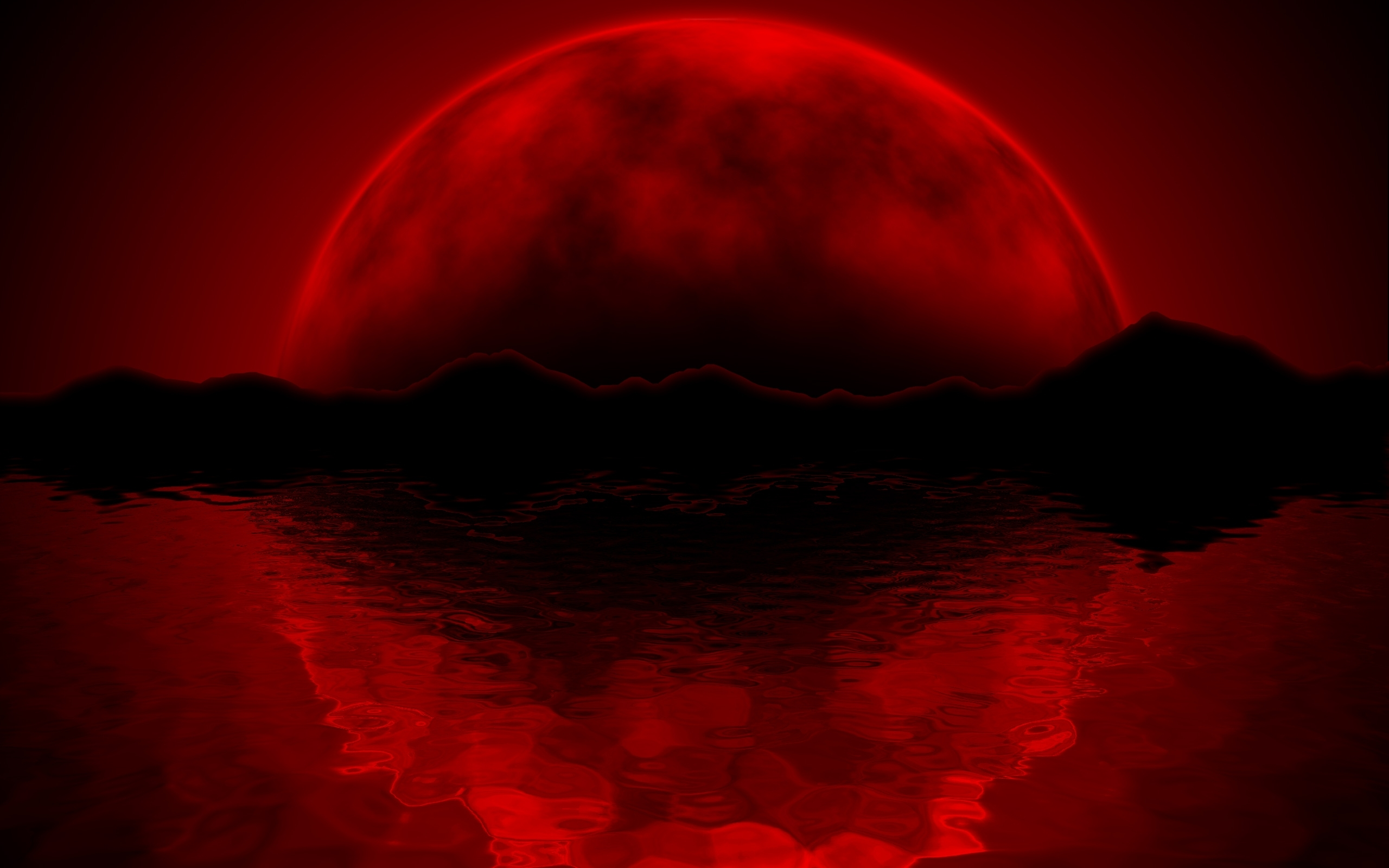 red-moon-wallpaper-mobile | wallpaper.wiki