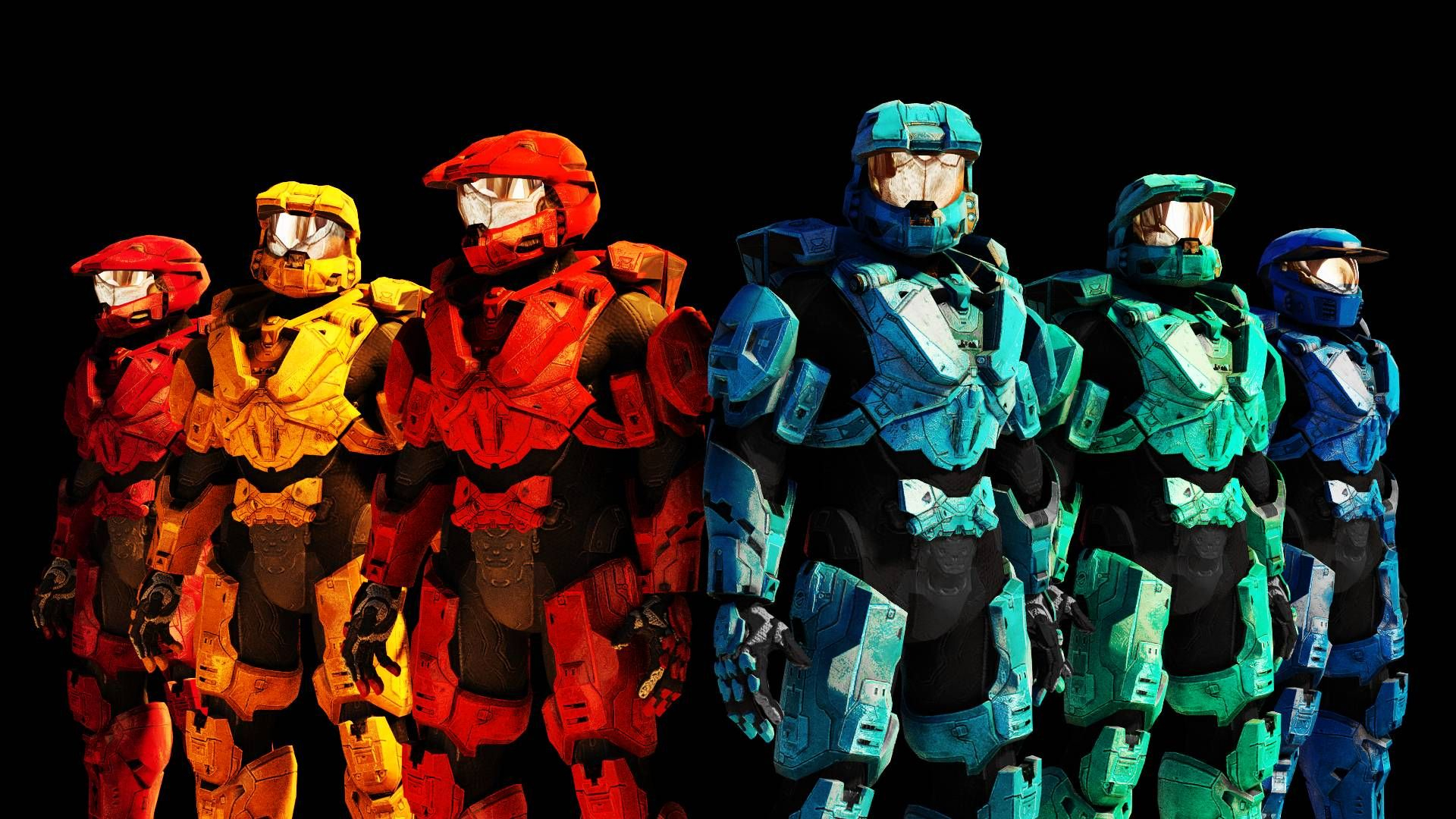 red vs. blue (1920x1080) : wallpapers | cool wallpapers | red vs
