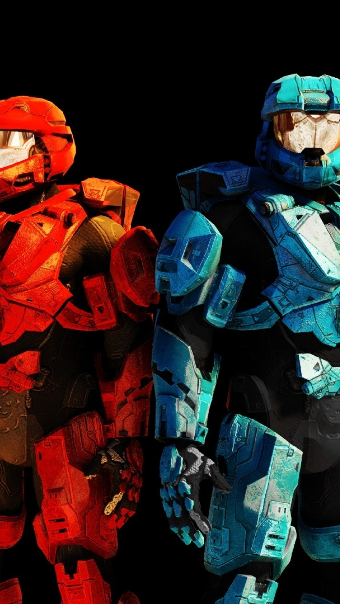 red vs blue iphone 6 wallpaper - hdwall
