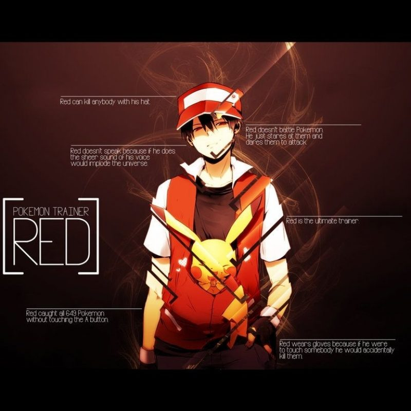 10 Most Popular Pokemon Trainer Red Wallpaper FULL HD 1920×1080 For PC Background 2021 free download red vs blue wallpapers group 79 800x800