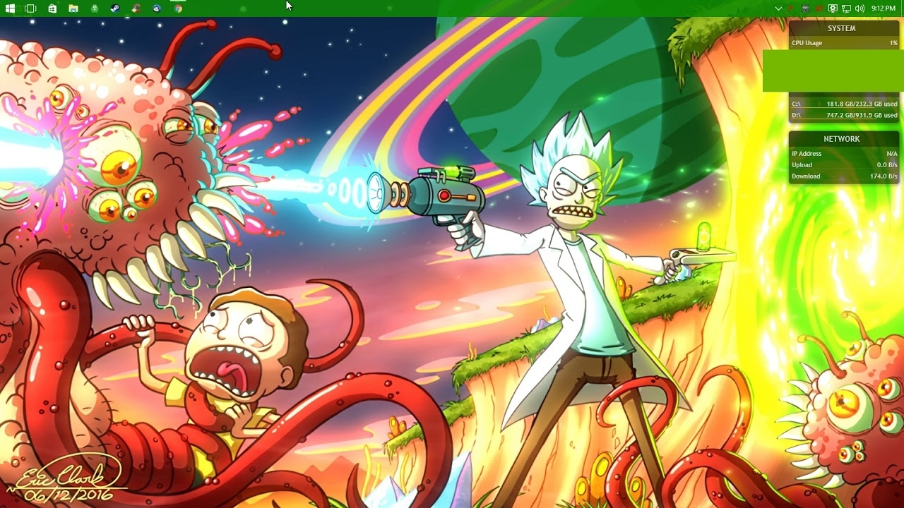 rick and morty background - youtube