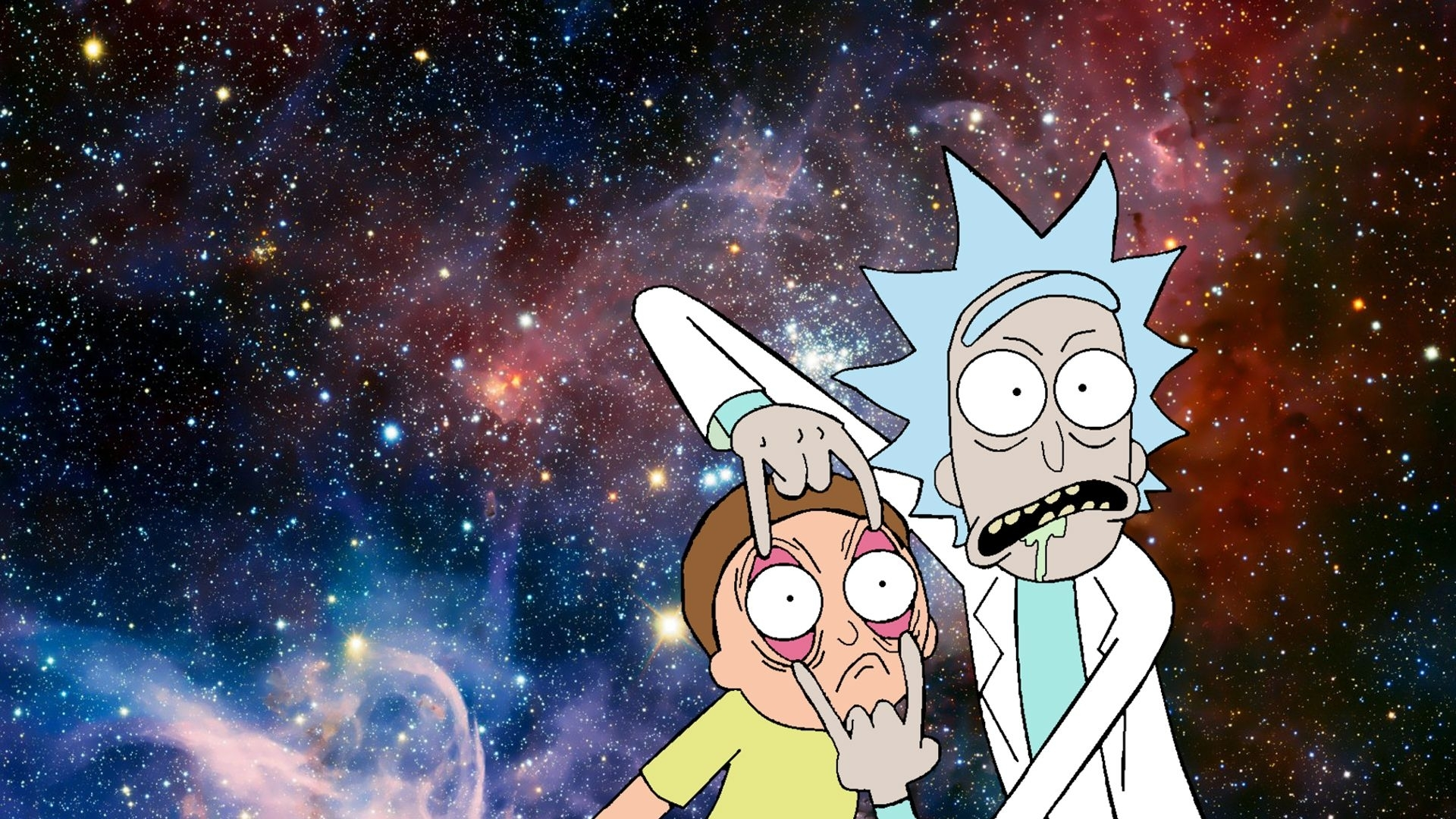 rick and morty wallpapers - album on imgur