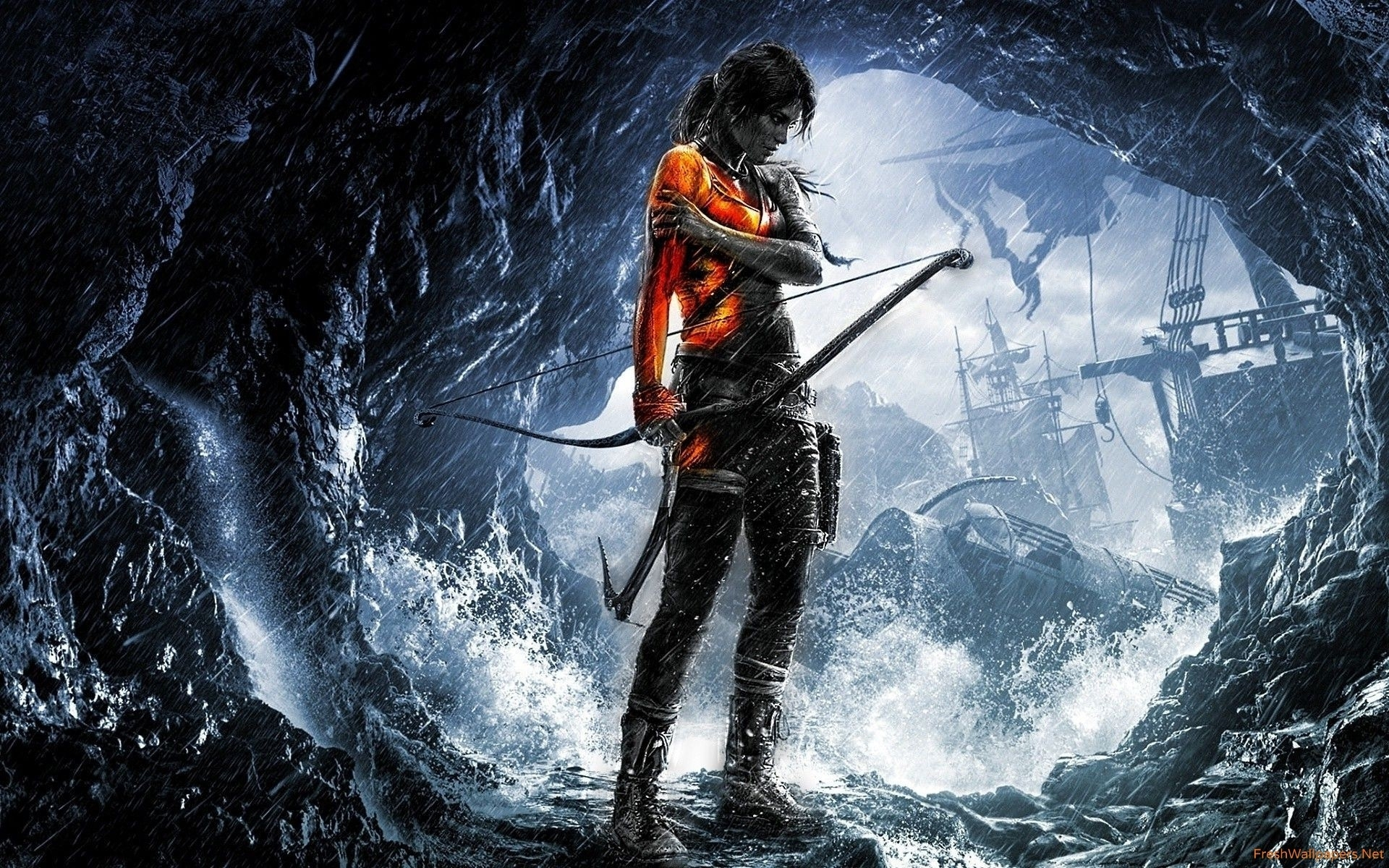 rise of the tomb raider 2015 game wallpapers | freshwallpapers