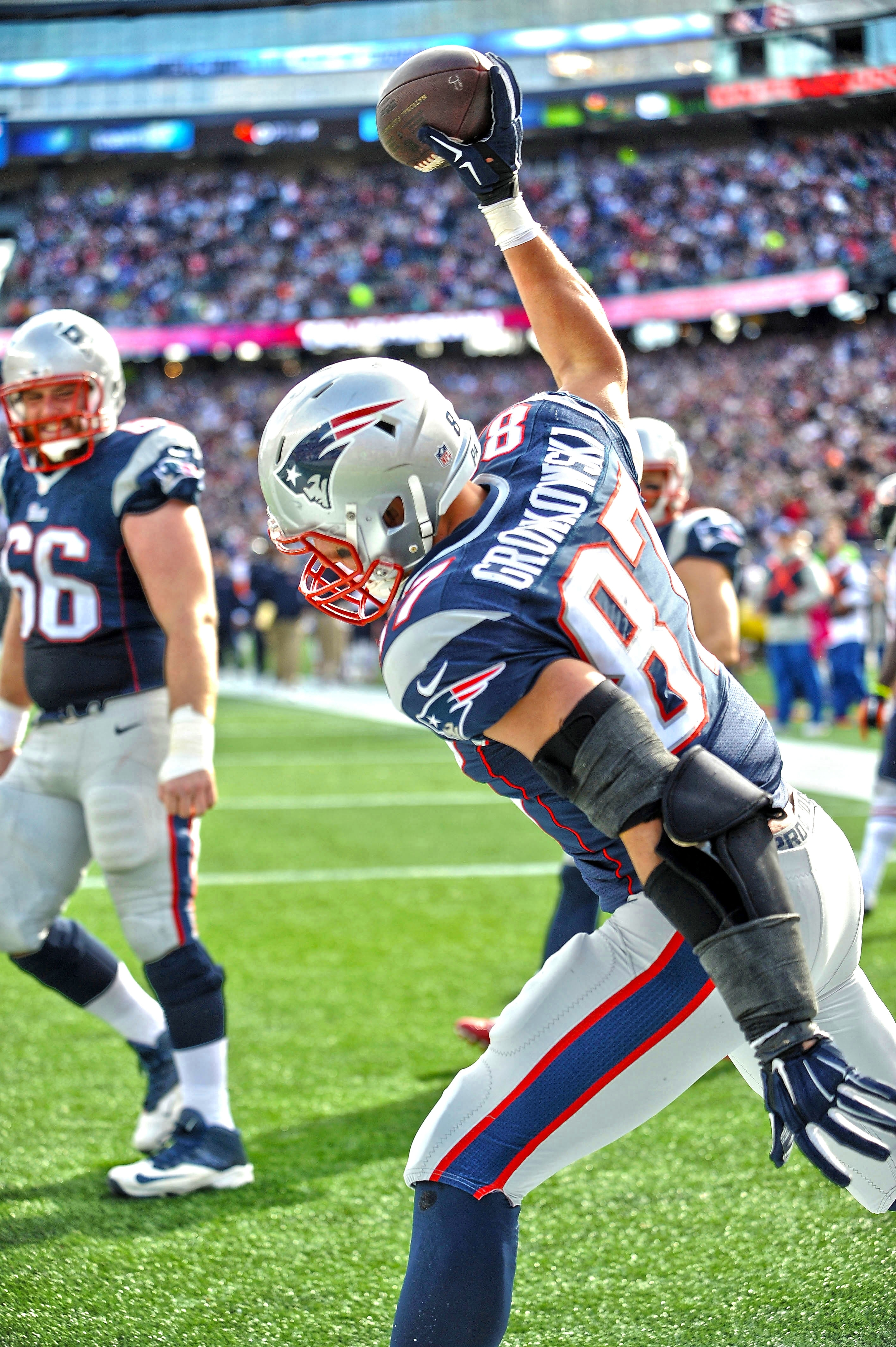 rob gronkowski #87 - gronk spike | patriots | pinterest | rob