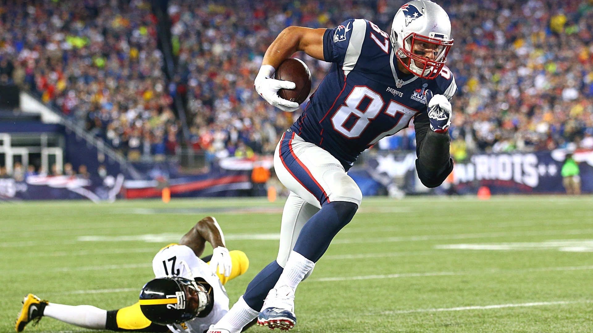 rob gronkowski highlights ii gronk spike ii - youtube