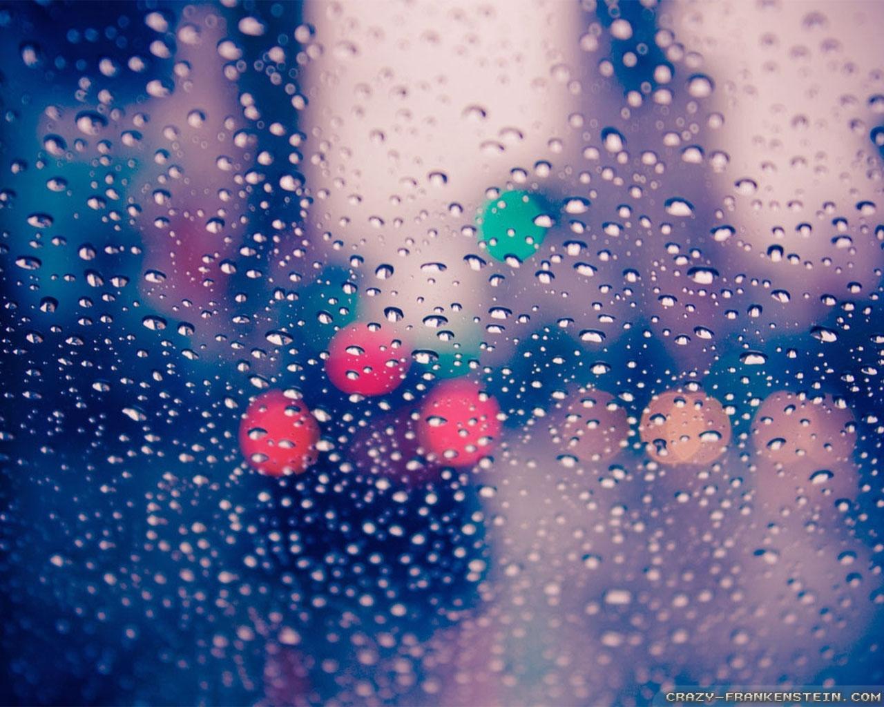 romantic rain wallpapers - crazy frankenstein