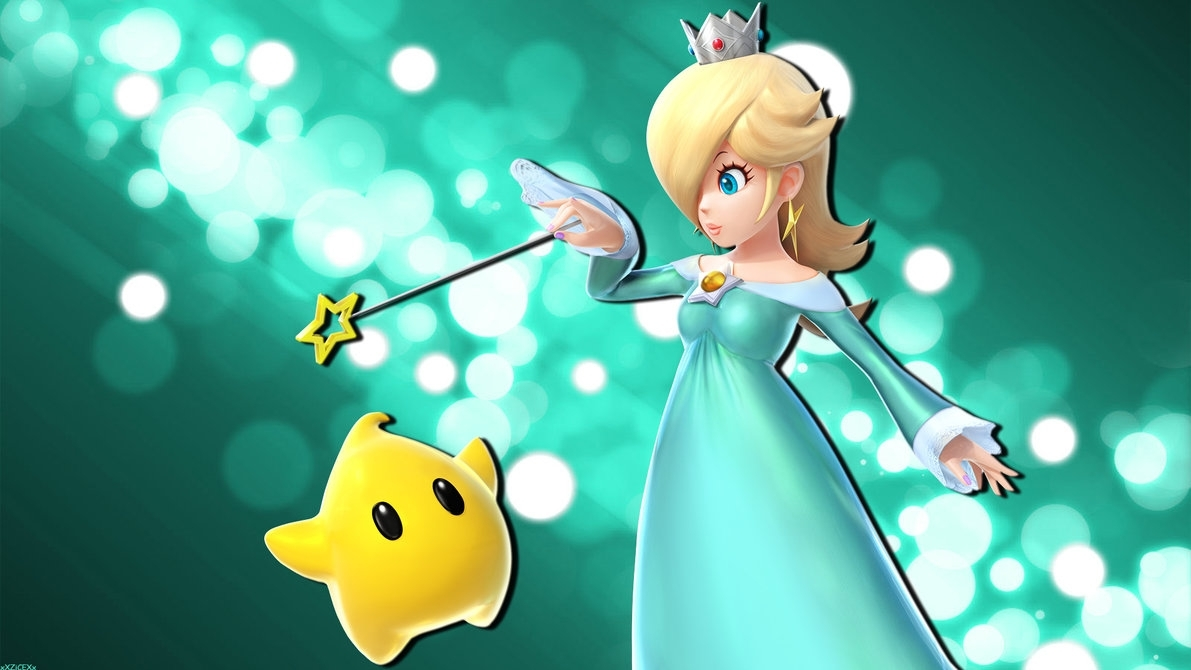 rosalina and luma wallpaperxxzicexx on deviantart