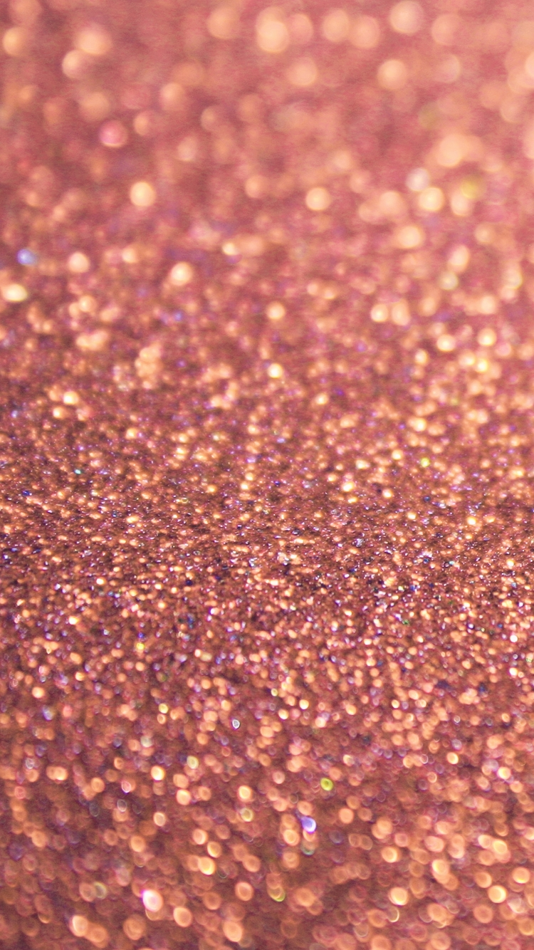 rose gold glitter iphone 6 wallpaper hd - free download | iphonewalls