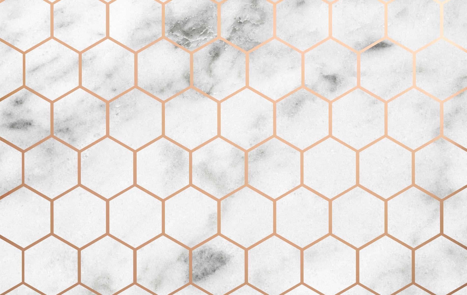 rose gold marble desktop wallpaper for your computer! -designed