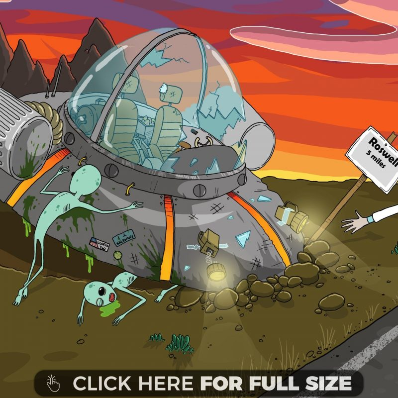 10 Top 4K Rick And Morty Wallpaper FULL HD 1920×1080 For PC Background 2018 free download roswell crash rick and morty 4k wallpaper 800x800
