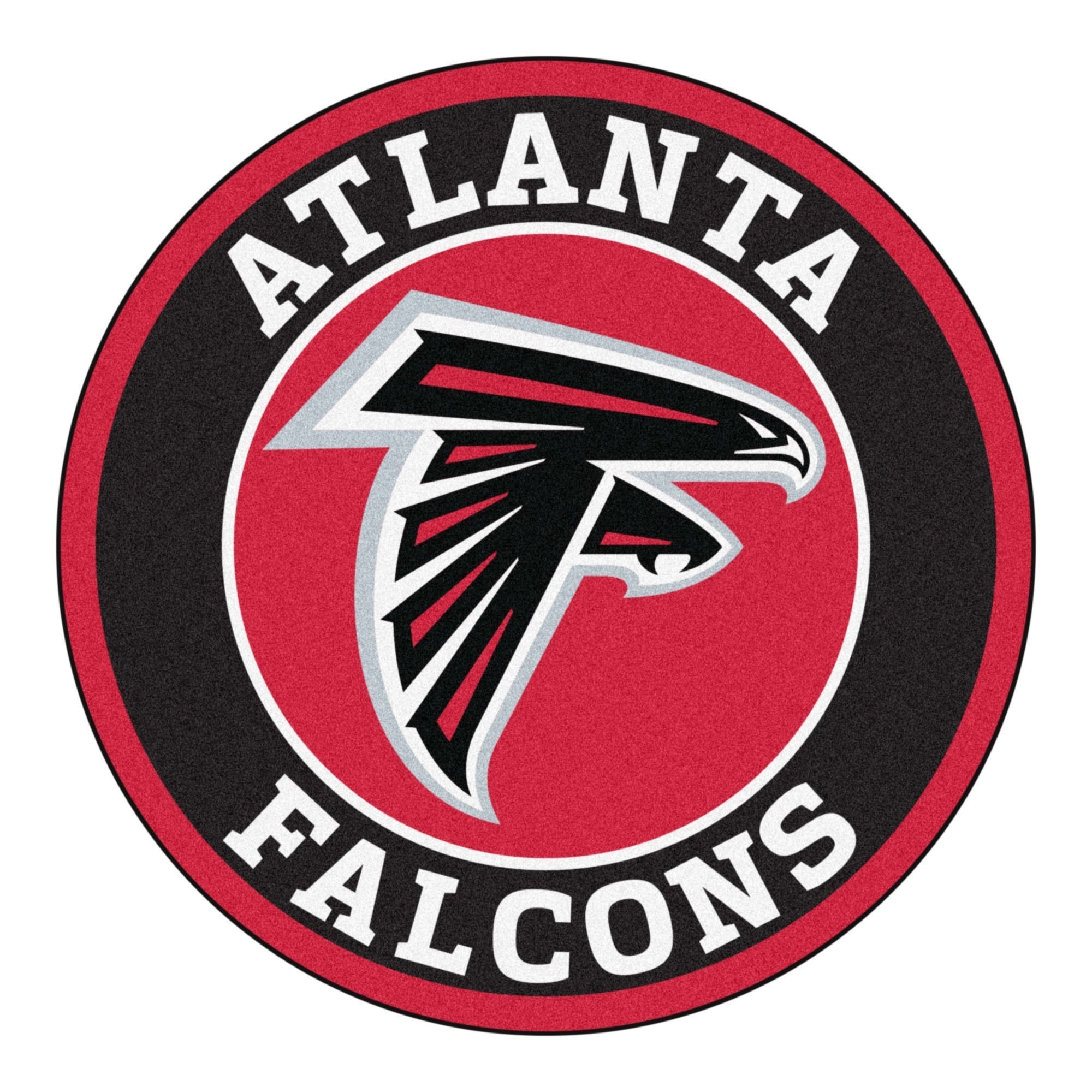 roundel mat - atlanta falcons | falcons