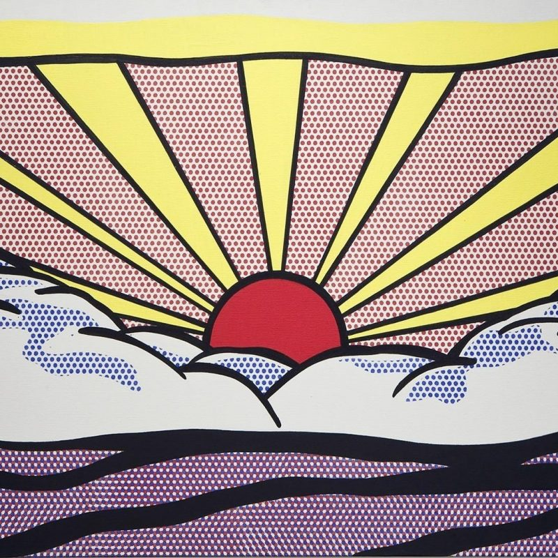 10 Most Popular Pop Art Desktop Wallpaper FULL HD 1080p For PC Desktop 2018 free download roy lichtenstein artwork paintings pop art sunrise wallpaper 87626 2 800x800