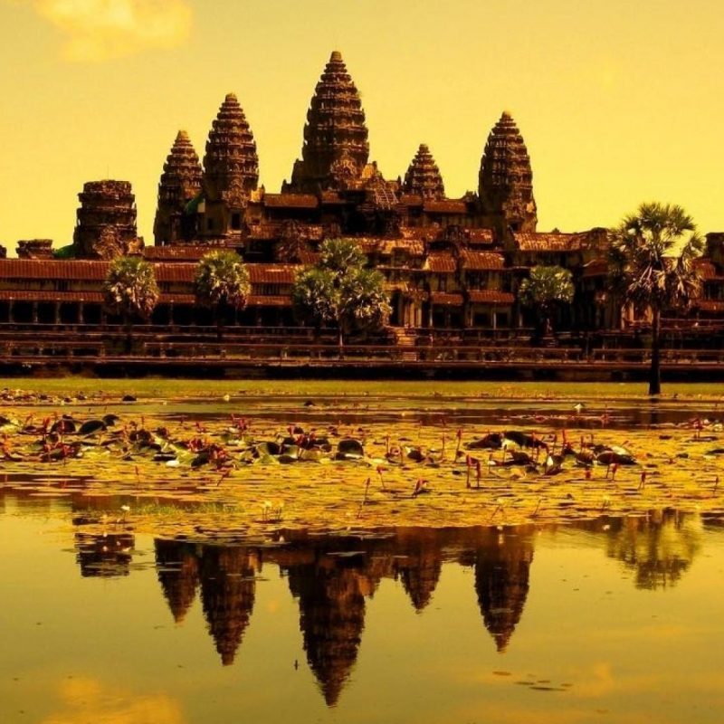 10 Latest Angkor Wat Hd Wallpaper FULL HD 1920×1080 For PC Background 2021 free download ruins cambodia asia angkor wat temple reflections wallpaper 69268 800x800