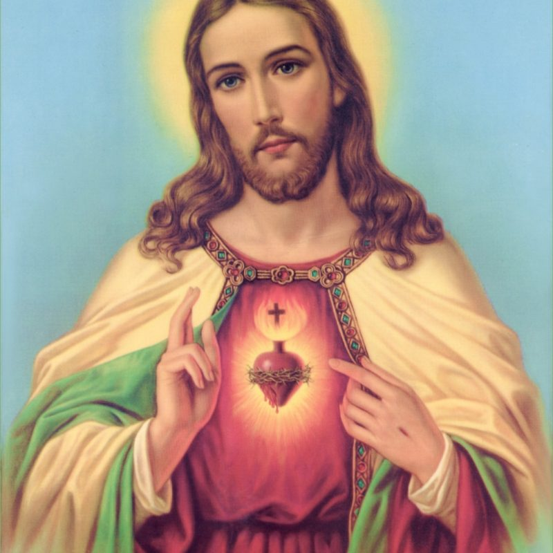 10 Most Popular Heart Of Jesus Image FULL HD 1080p For PC Desktop 2021 free download sacred heart of jesus christ wallpaper picture download 800x800