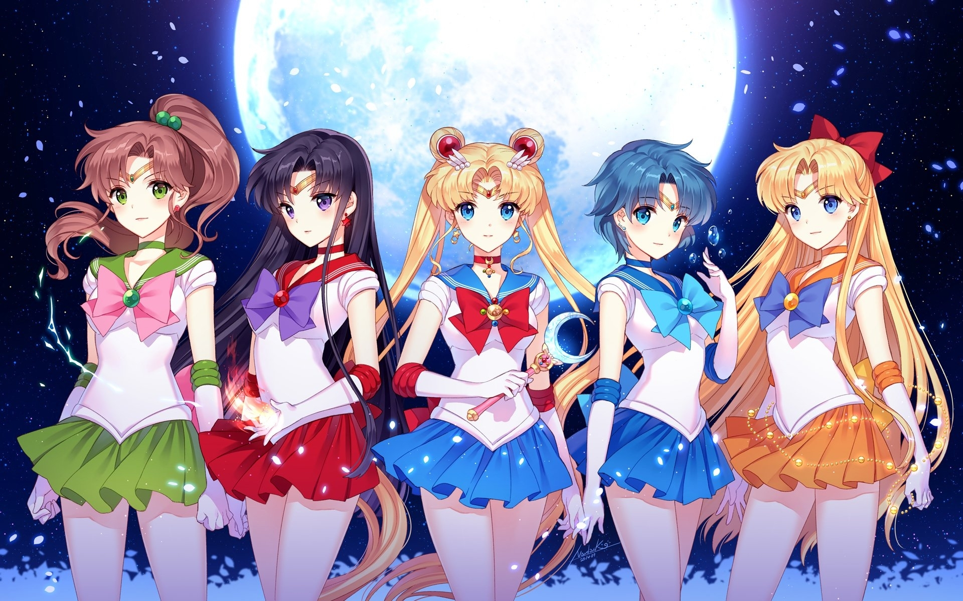 sailor moon full hd wallpaper and background image | 1920x1200 | id