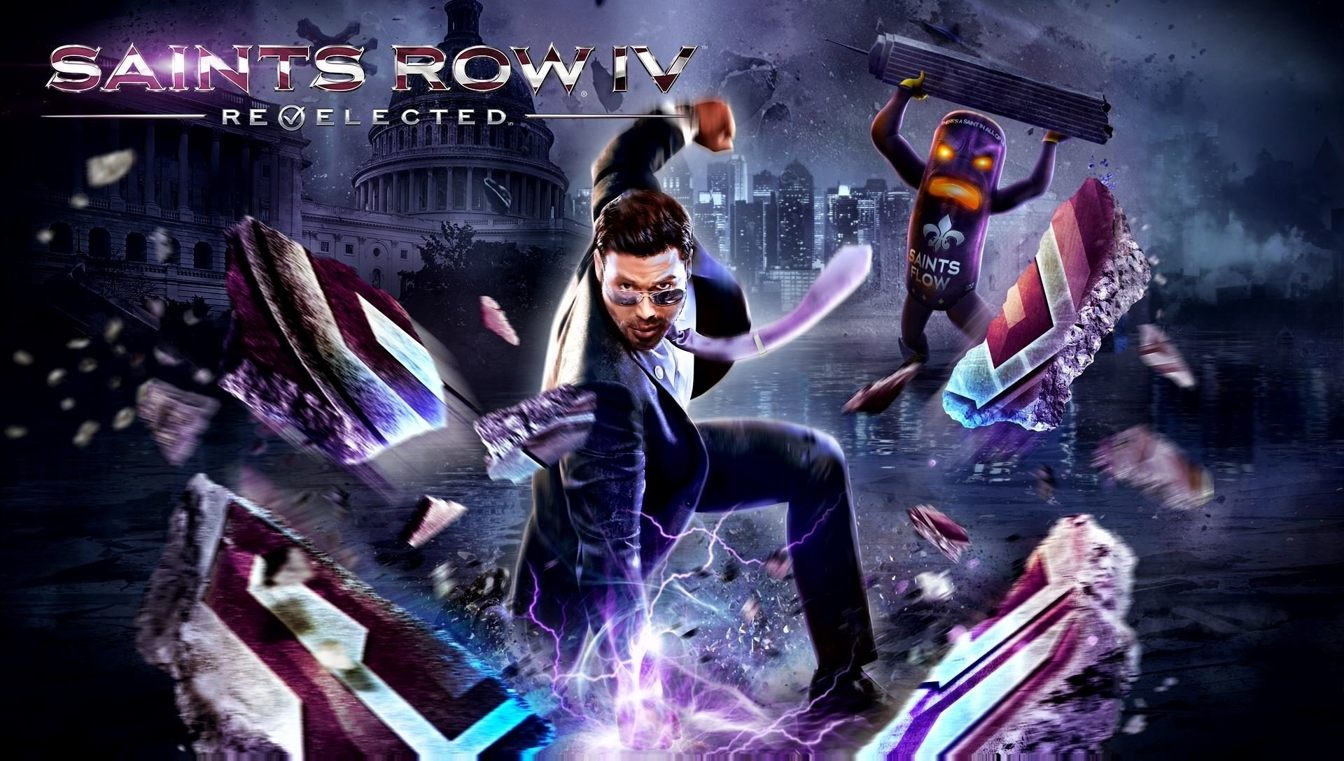saints row iv: re-elected full hd wallpaper and background image