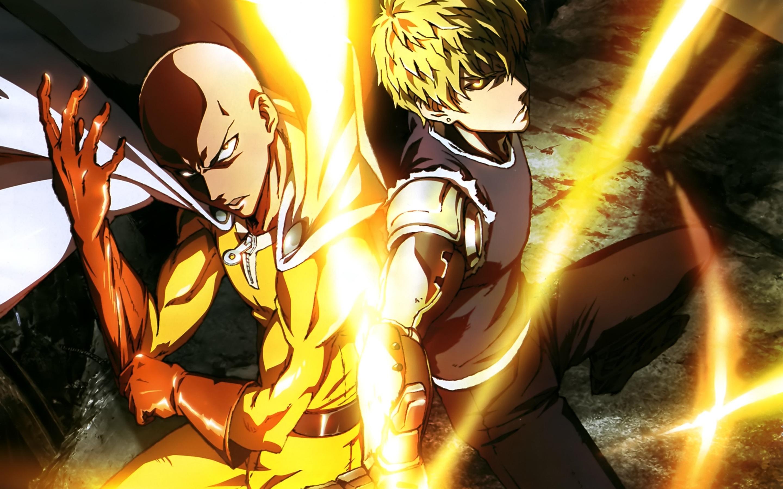 saitama (one punch man) images saitama and genos hd wallpaper and