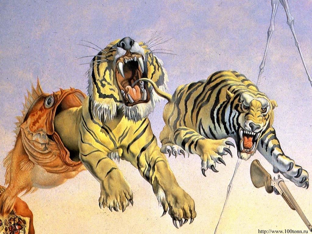 salvador dali tigers - 10 000 fonds d'écran hd gratuits et de