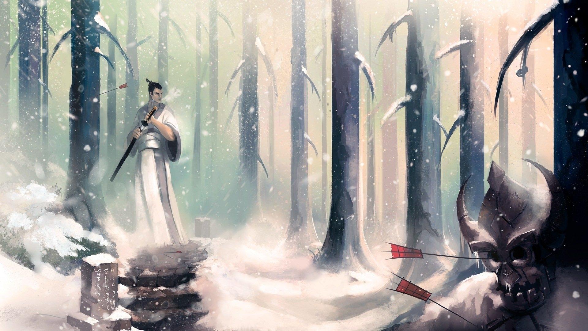 samurai jack full hd wallpaper and background image | 1920x1080 | id