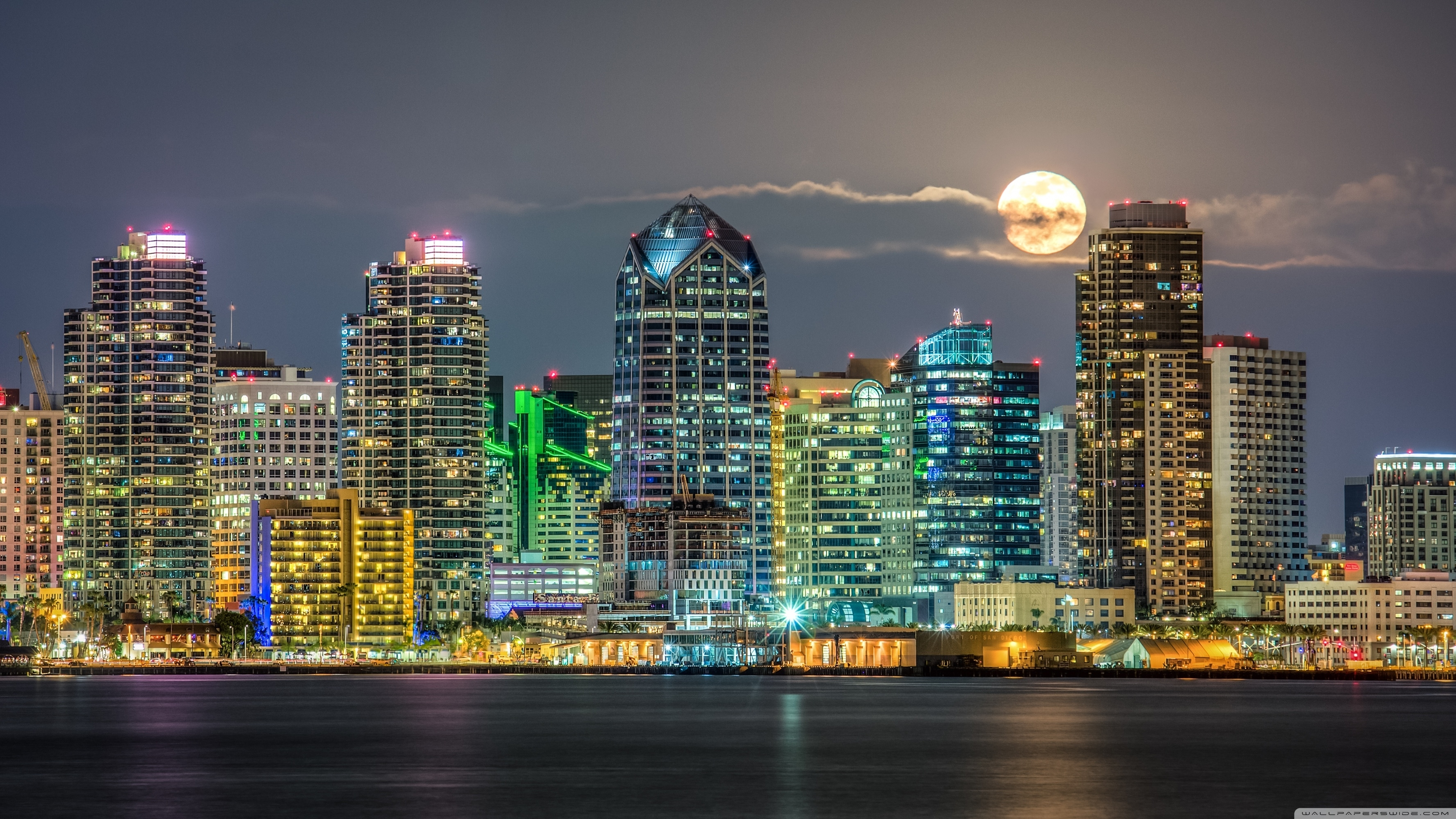 san diego skyline ❤ 4k hd desktop wallpaper for • wide & ultra