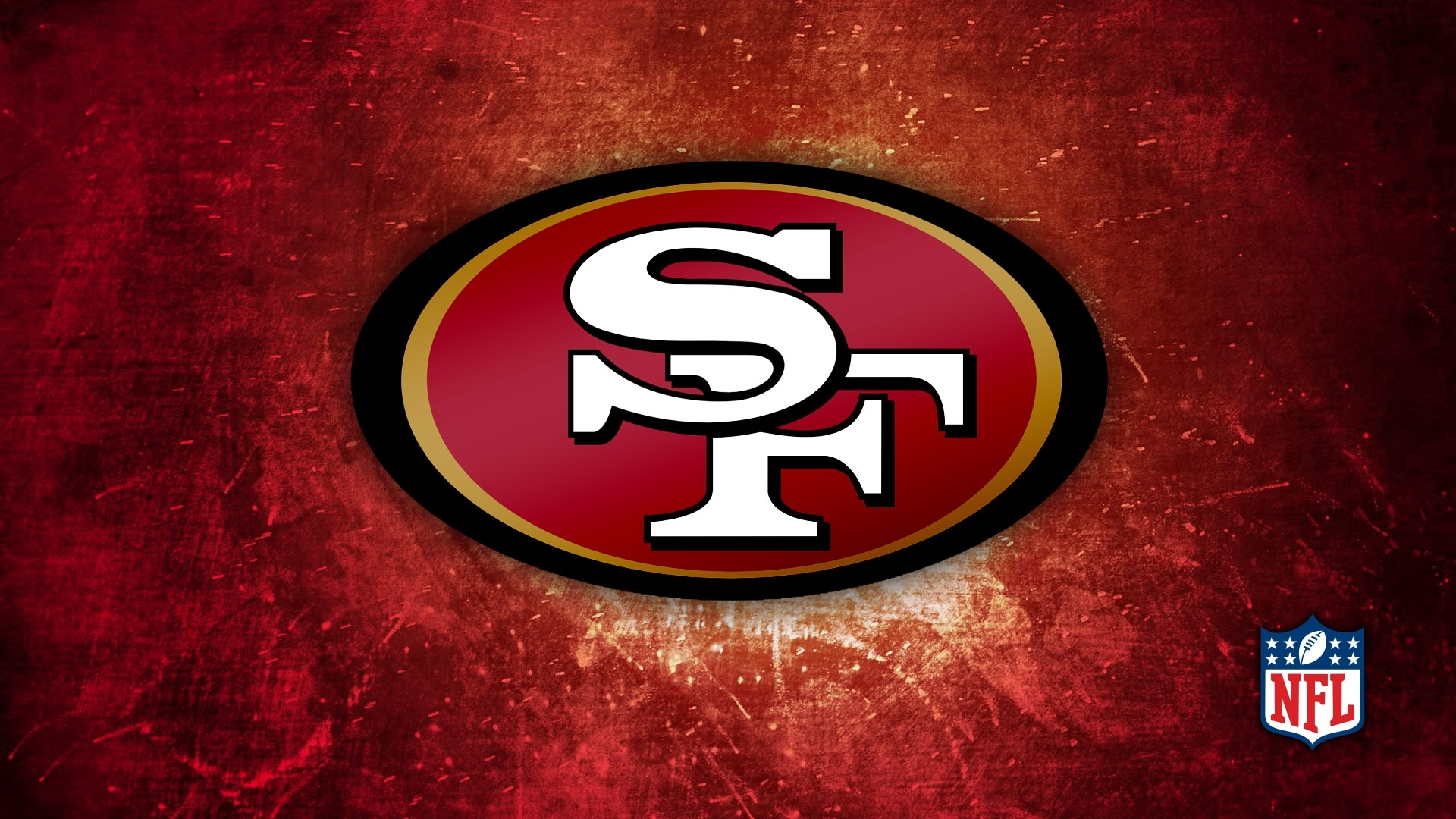 san francisco 49ers logo desktop wallpaper 55987 1920x1080 px