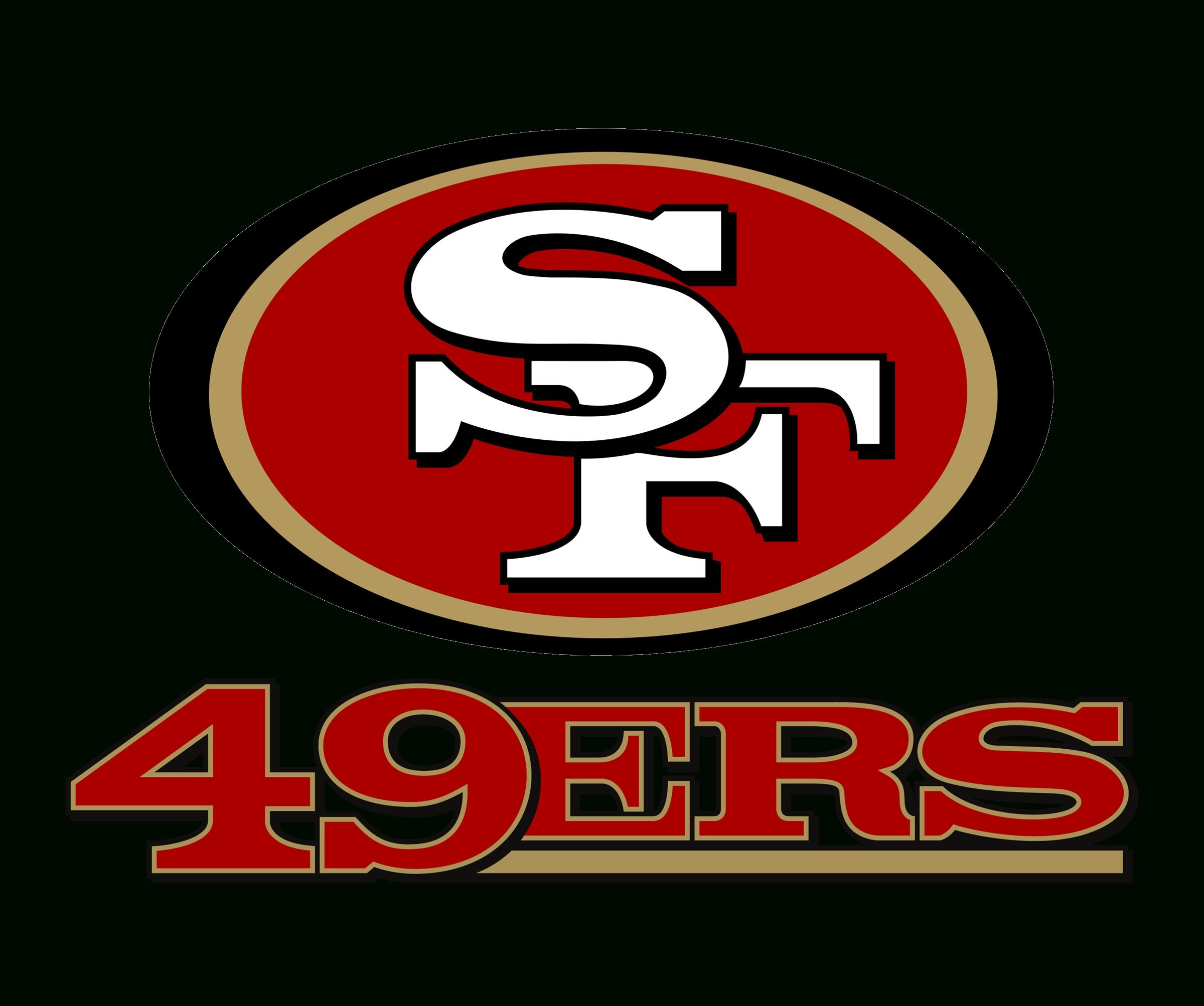 san francisco 49ers logo png transparent & svg vector - freebie supply