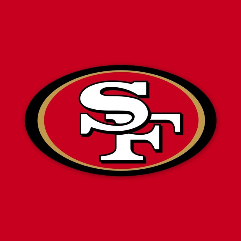 10 Latest Images Of The 49Ers Logo FULL HD 1920×1080 For PC Desktop 2018 free download san francisco 49ers logo wallpaper 908067 800x800