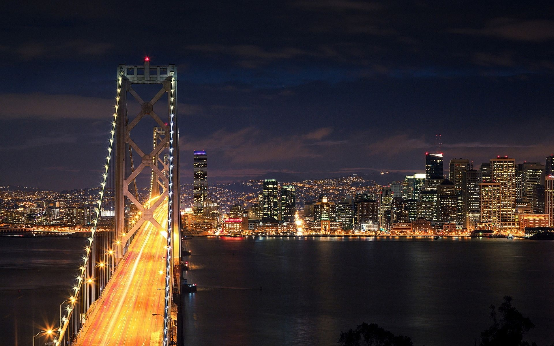 san francisco pictures free | night of san francisco wallpapers